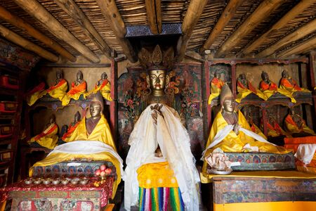 In the Himalayan buddhists gompa