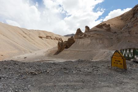 Himalaya de montagne dans la province du Ladakh. Inde Banque d'images