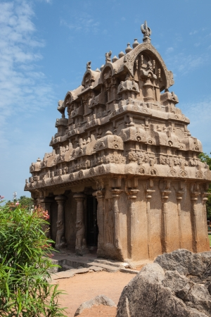 penance: Arjunas Penance, Mahabalipuram, Tamil Nadu, India