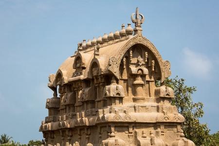 Arjunas Penance, Mahabalipuram, Tamil Nadu, India photo
