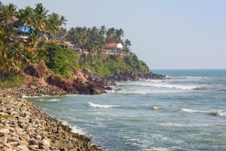varkala: Varkala beach view  Kerala  India  Stock Photo