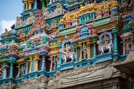 The Great Indian temple in Tamil Nadu photo