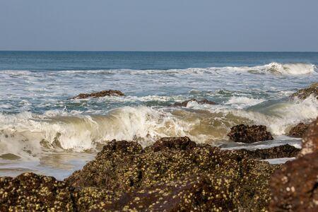 varkala: A beach in Varkala  Indian ocean