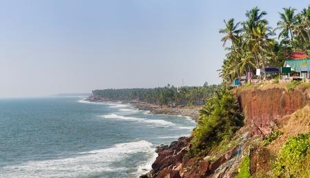 varkala: Varkala beach view. Kerala. India. Stock Photo