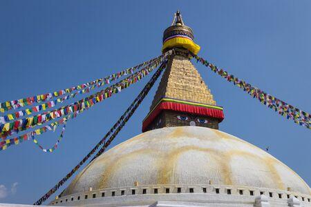 buddhist stupa: La estupa budista en Katmand�