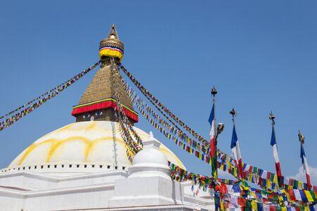 buddhist stupa: The Buddhist stupa in Kathmandu