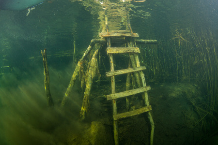 the silence of the world: The nature of the bottom of the Ukrainian River