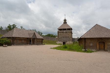 cossacks: Fortified settlement Ukrainian Cossacks 16-18 centuries