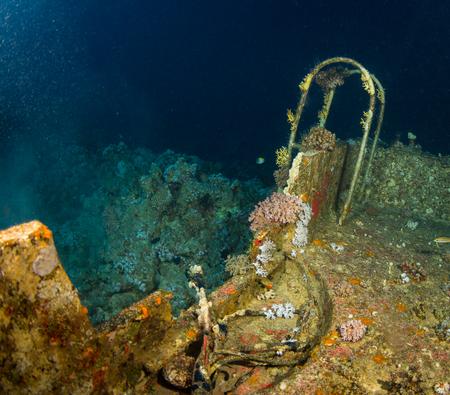 el sheikh: Glassboat wreck on the reaf near Sharm El Sheikh