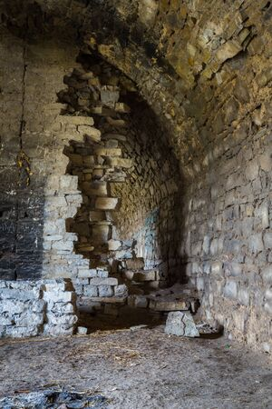 dungeon: Dungeon of a medieval castle in the west of Ukraine