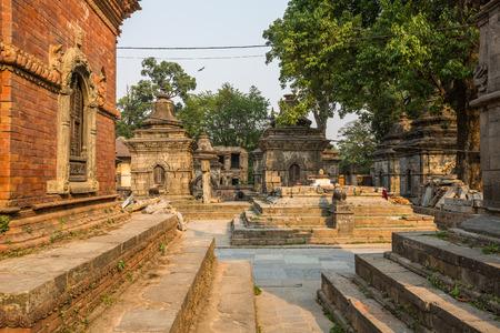 Pashupatinath Temple in Kathmandu. Nepal. Stock Photo