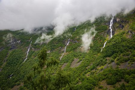 jotunheimen national park: The majestic river in Norway Jotunheimen National Park Stock Photo