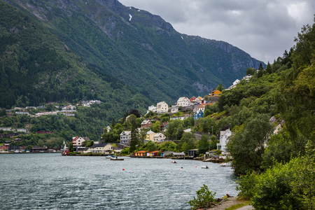 A view to the city Odda