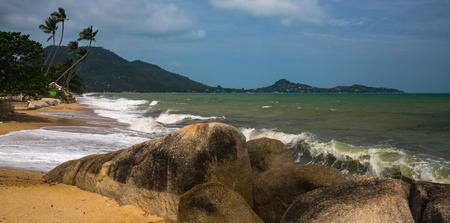 bounty: Waves on the tropical island Samui