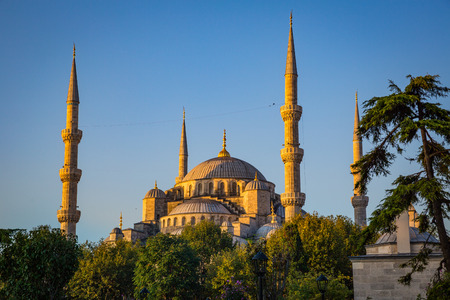 archways: Sultan Ahmed Mosque in Istanbul