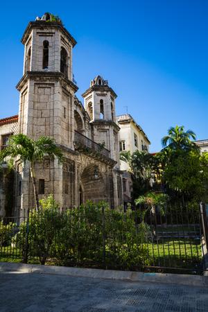 Havana street on a January afternoon Editorial