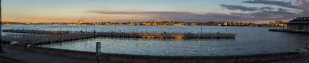 HABANA, CUBA-JANUARY 12: Malecon quay in Habana, Cuba. Malecon embankment in old Habana Editorial