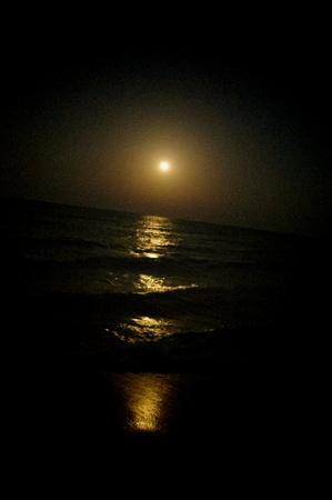Maan weg van de zee
