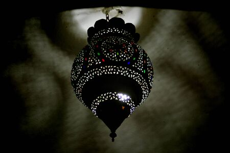 a magic lamp Stock Photo