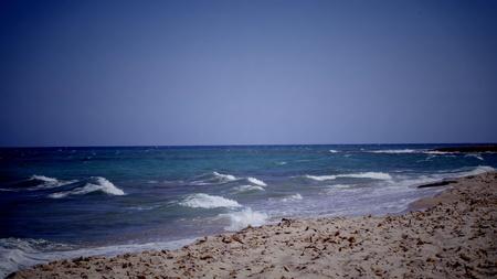 The beautiful Mediterranean sea