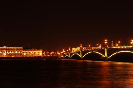 Beautiful  nights in Saint-Petersburg