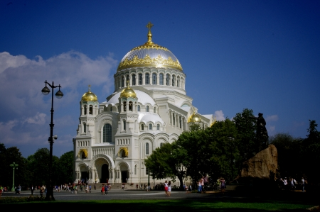 St  Petersburg, Kronstadt Stock Photo