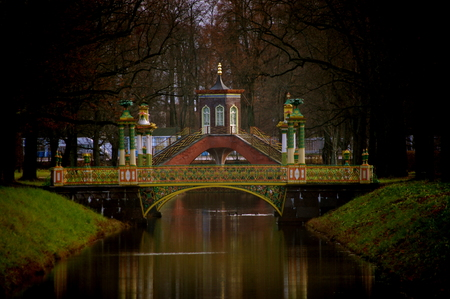 St  Petersburg, suburbs Stock Photo