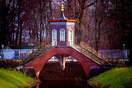 St  Petersburg, suburbs Stock Photo