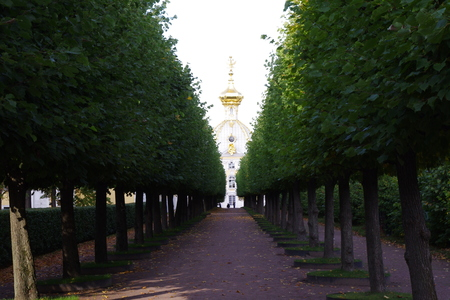 St  Petersburg, Peterhof, architecture Stock Photo