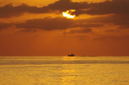 Sunrise on the Mediterranean