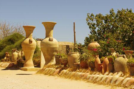 Pottery in Tunisia.
