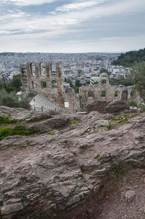 Odeon of Herodes Atticus, amphitheatre  photo