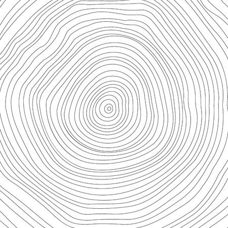 Koncepcionális háttér fa-gyűrűket. vektorgrafikus Illusztráció