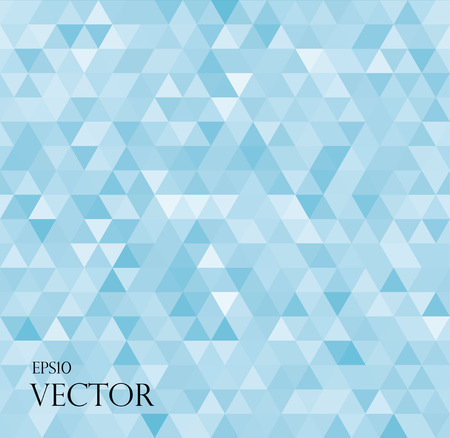 modern white abstract background with blue triangles illustration Eps10 illustration Ilustracja