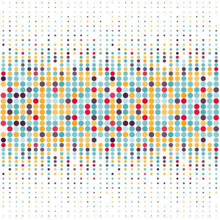 manic: Background with the coloured circles in a vector. Eps10 illustration
