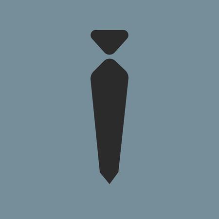 Vector Tie Icon Symbol eps 10 vector illustration Illustration