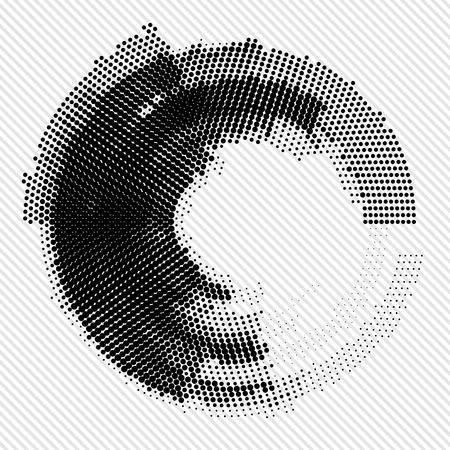 Absztrakt fekete-fehér háttér. Vektoros illusztráció eps10