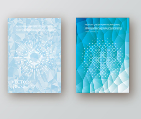 flyer layout: Abstract colorful Brochure Flyer design Layout vector template in A4 size  eps 10 vector illustration