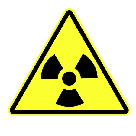 Radiation attention Sign eps 10 vector illustration