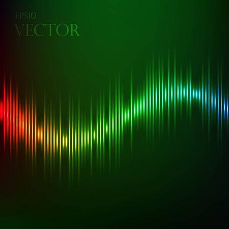 Equalizer sound background. eps 10 vector illustration Vector
