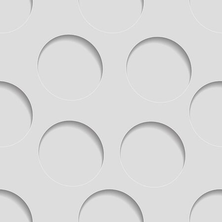 perforated: Abstract 3d seamless background. See others in a Perforated Paper Set. Vector EPS10. Illustration