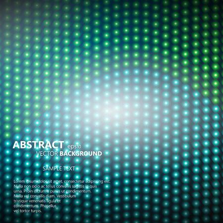 smooth background: Astratto liscio con file incandescente di punti di mezzitoni