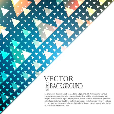 a place for the text: Abstract blue light template background with a place for text