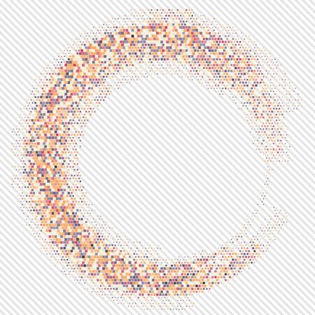 orange background abstract: Abstract orange background.  eps 10 vector illustration Stock Photo