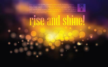 optimistic: vector morning cityscape. optimistic illustration for your business presentation   eps 10 vector illustration