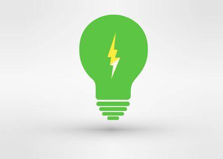 l petrol: Un atractivo vectorial Green Energy Vectores