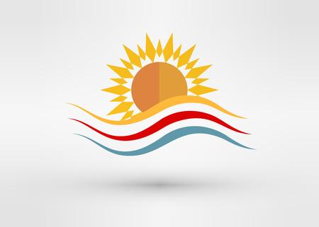 Sun Energy icon Template