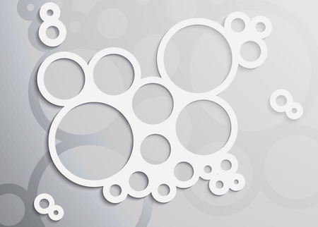 zero gravity: vector light soap bubble  Illustration