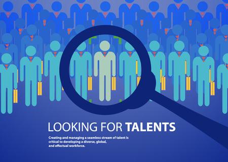 people design  over  blue background vector illustration