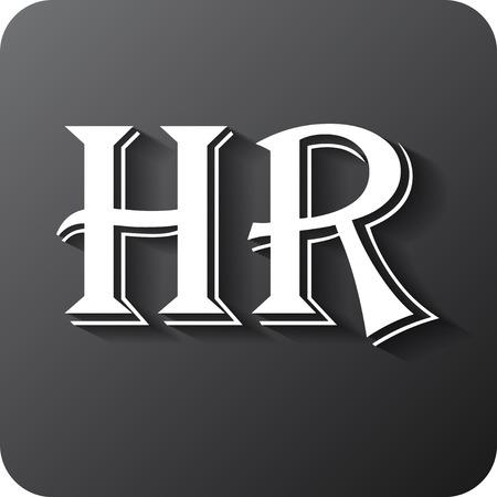 workforce: Human resources sign icon. HR symbol. Workforce of business organization. Vector eps 10